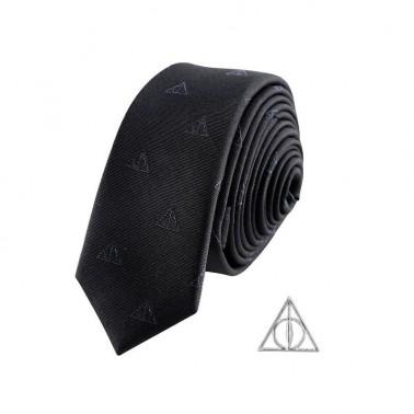Set Corbata + Pin  Harry Potter  Reliquias d