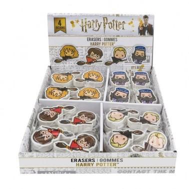 Set goma de borrar personajes Harry Potter