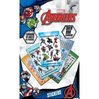 Set Stickers Avengers Variados