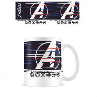 Taza Avengers Gamerverse Lines
