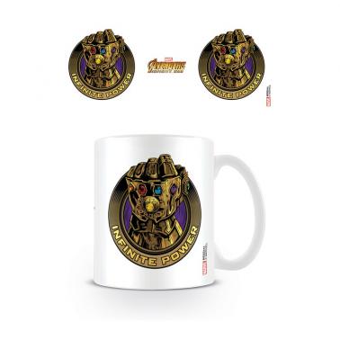 Taza Avengers Puño de Thanos