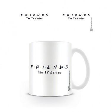 Taza Friends Logo en Blanco