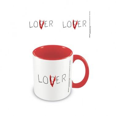 Taza IT Lover roja