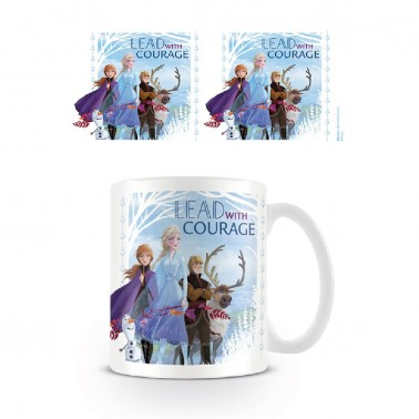 Taza Lead with Courage Frozen II