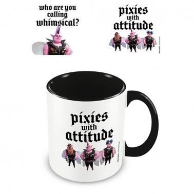 Taza Onward Pixies wih an attitude
