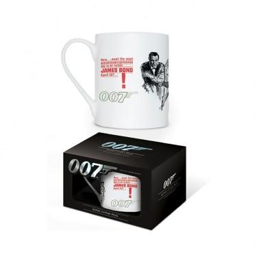 Taza porcelana china James Bond Dr No