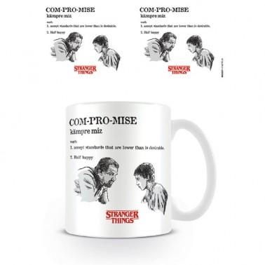 Taza Stranger Things Compromiso