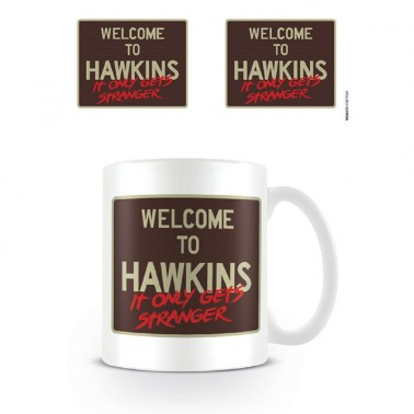 Taza Stranger Things Welcome to Hawkins