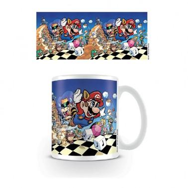 Taza Super Mario Arte