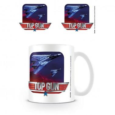 Taza Top Gun Fighters Jet