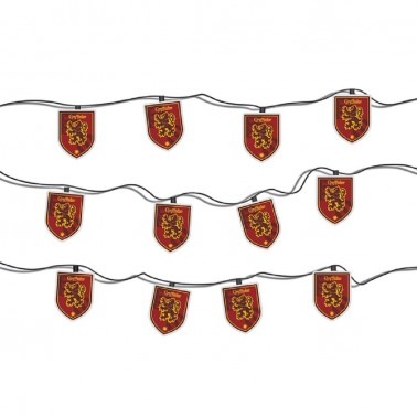 Guirnalda de Luces Harry Potter (Escudo Gryffindor)