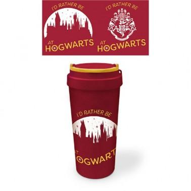 Vaso de Viaje eco Harry Potter Hogwarts