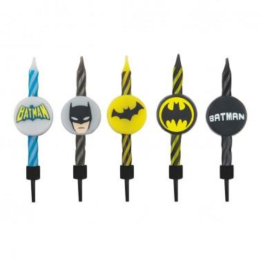 Velas de cumpleaños Batman
