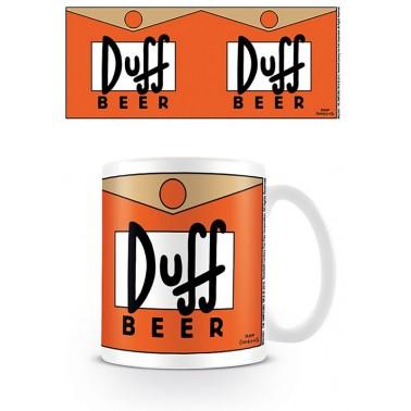 Taza de desayuno Los Simpson Cerveza Duff