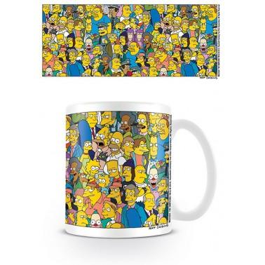Taza de desayuno Los Simpson Personajes