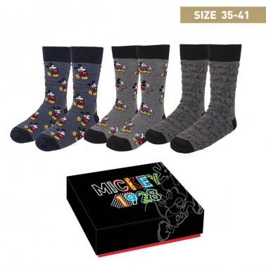 Caja regalo calcetines Mickey Mouse 1928 t. 35-41
