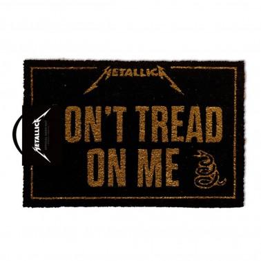 Felpudo Metallica Don´t Tread on me