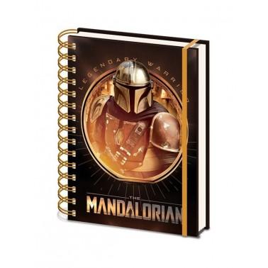 Libreta con espiral The Mandalorian