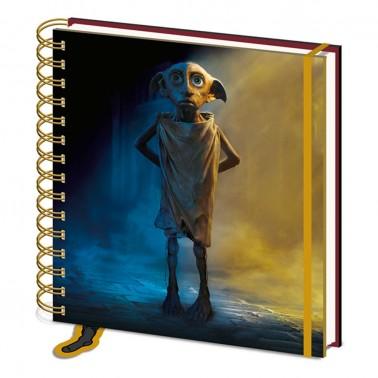 Libreta cuadrada Harry Potter Dobby