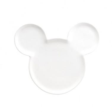 Plato de Cerámica Mickey blanco
