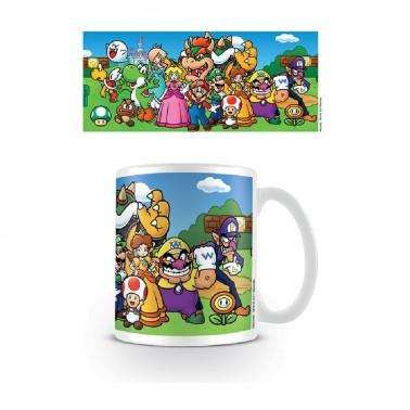 Taza Super Mario Personajes