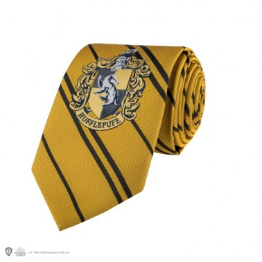 Corbata para adultos Harry Potter (Hufflepuff)