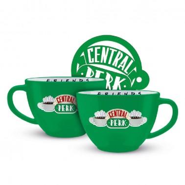 Taza Verde Central Perk Friends