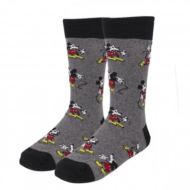 Calcetines grises Mickey Mouse Surprise!