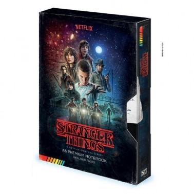 Libreta de Stranger Things VHS