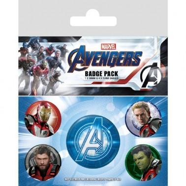 Set de chapas de Avengers: Endgame Quantum Realm