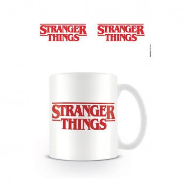Taza Logotipo Stranger Things