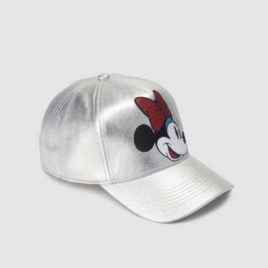 Gorra plateada Minnie Mouse