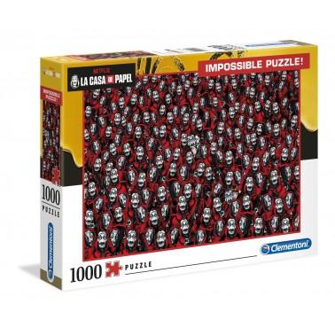 Puzzle Imposible 1000 Piezas La Casa de papel