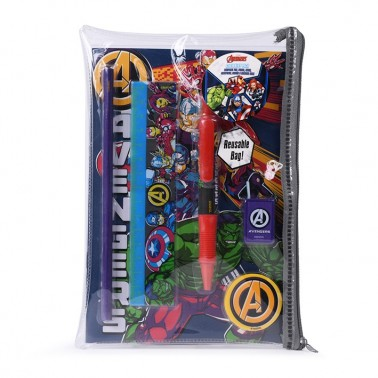 Set escolar Avengers (Personajes)