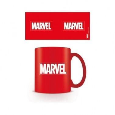 Taza de desayuno Marvel Logo Rojo