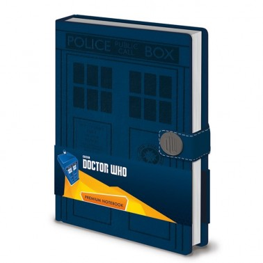 Cuaderno premium Doctor Who TARDIS