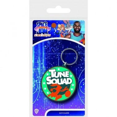Llavero de goma Space Jam 2 Emblema Tune Squad