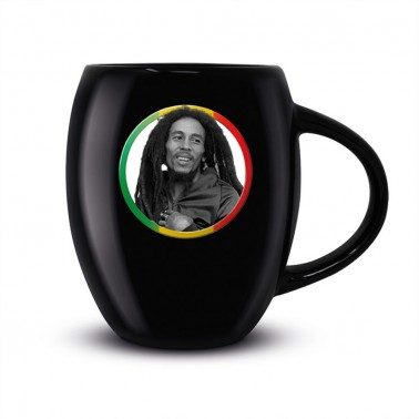 Taza ovalada Bob Marley