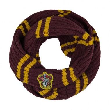 Bufanda infinita de Harry Potter de Gryffindor