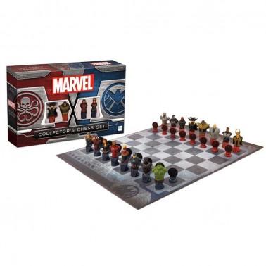 Set de Ajedrez Edición Collector Clásicos Marvel