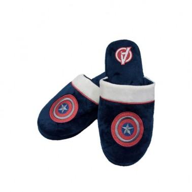Zapatillas de casa de Capitán América