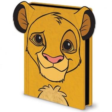 Cuaderno El Rey León Simba
