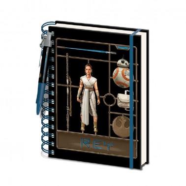 Libreta espiral Star Wars Airfix Rey