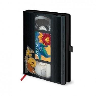 Libreta premium VHS El Rey León