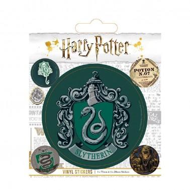 Juego de pegatinas Harry Potter Slytherin