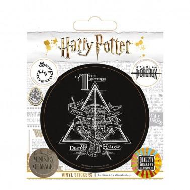 Juego de pegatinas Harry Potter Símbolos