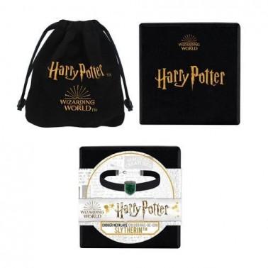 Collar tipo gargantilla Harry Potter Slytherin