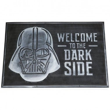 Felpudo de Caucho Welcome to Dark Side