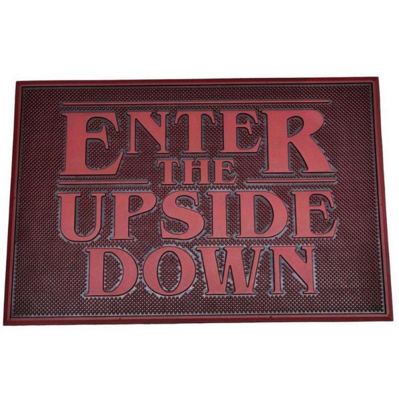 Felpudo de Caucho Enter the Upside Down