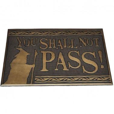 Felpudo de Caucho You Shall not Pass